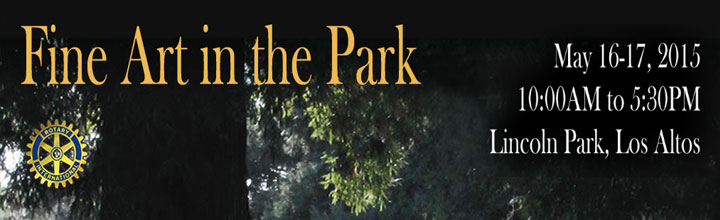 Fine Art in the Park – May 16-17, 2015
