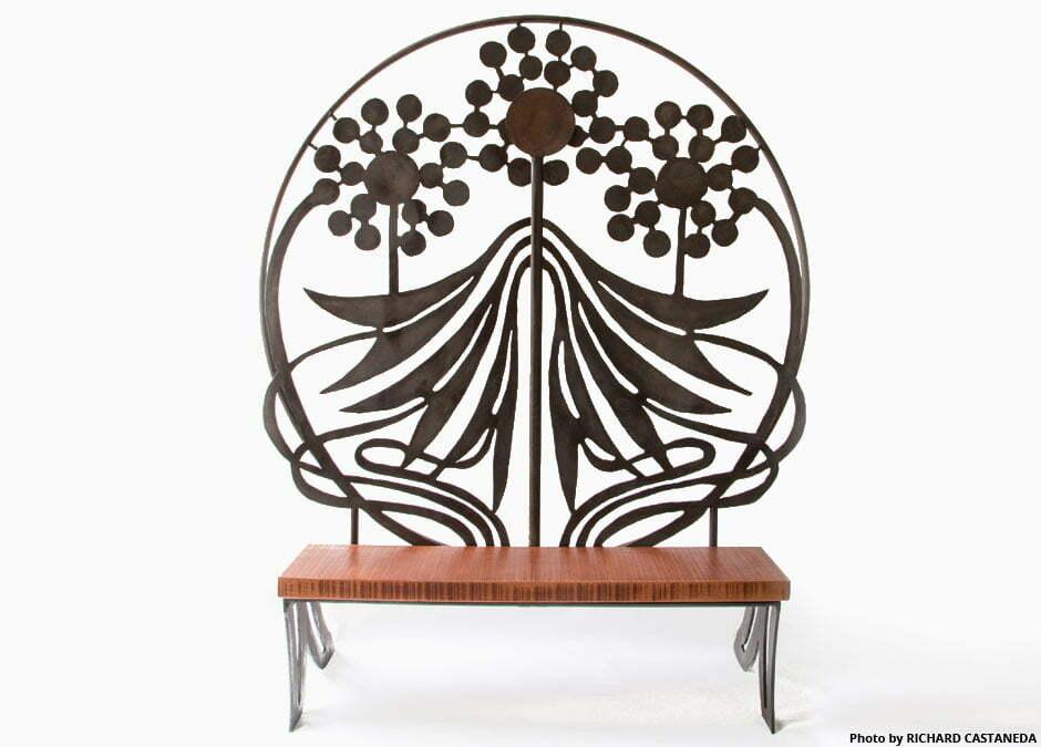 Delightful The Nouveau Bench